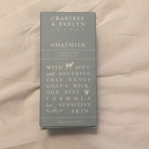 Crabtree & Evelyn Goatmilk lotion